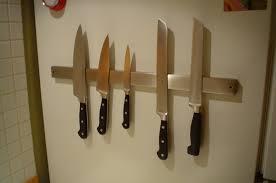 ... Rack, Hacks Magnetic Knife Rack Holder Wall Mount Ideas: Excellent Magnetic  Knife Rack For ...