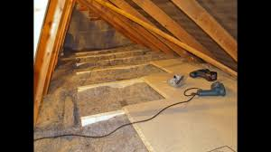 diy loft attic insulation with over