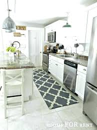 black and white kitchen rug gray rugs awesome grey with area striped vinyl mat tiles patt