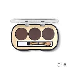 miss rose 3 colors eyebrow enhancer kit makeup palette eyebrow wax powder makeup palette available