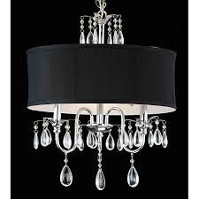 designed to the nines friday s frivolty drum shade chandeliers for black chandelier ideas 10
