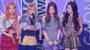 6th Gaon Chart Music Awards 2017 Blackpink Wins Gaon Chart Music Award Lisa Speech Cute