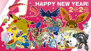 Official congratulation of Pokémon in Japan for the Year 2020 : pokemon