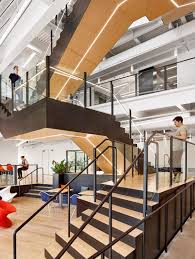 office trend. Trend Micro\u0027s Cool New Austin Office | Stairway #stairway #office Http://www.ironageoffice.com/