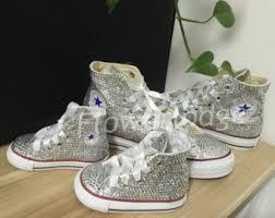 converse shoes high tops for girls. rhinestone children shoes, custom women high top converse shoes wedding flower girl sneaker, white tops for girls o