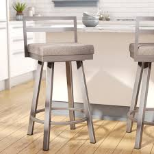 swivel bar stools. Brayden Studio Penton Swivel Bar Stool Reviews Wayfair Stools