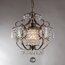 Antique Bronze Indoor Crystal Chandelier-RL4025BR - The Home Depot