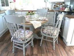 shabby chic round dining table. dining table shabby chic round uk cozy rustic blue