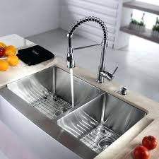 farm house sink inch farmhouse double bowl stainless steel kitchen sink with commercial style kitchen faucet