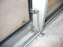best of sliding patio door locks or installing sliding glass door lock bar rooms decor and