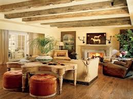 Rustic Decorating For Living Rooms Rustic Living Room Wall Paint Colors House Decor
