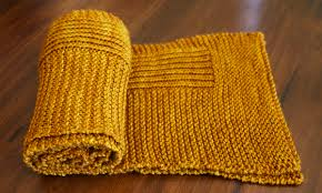 Simple Scarf Knitting Patterns Simple Wheat Scarf By Tin Can Knits A Free Pattern From The Simple Collection