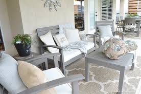 how to refinish a patio set have a worn and weathered wooden patio set that