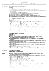 Lead Systems Administrator Resume Samples Velvet Jobs