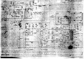 selmer pa mkii schematic selmer pa 100 mk ii amplifier schematic wiring diagram