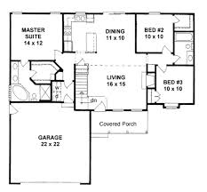 258 best bungalows under 1400 sq images on small small home plans with garage