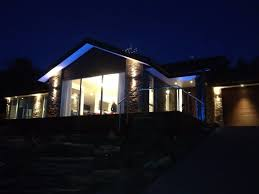 new house lighting. Outdoor Lighting On A New House P