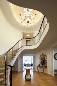 contemporary foyer lighting luxurious like bubles gl clear two