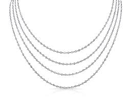 diamond station necklaces