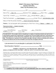 School Field Trip Permission Form Template Cream Permission To Go Out Form Parent For Field Trip Letter
