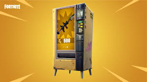 Cheats For Vending Machines Beauteous Revealed Every Location Of Fortnite's Vending Machine