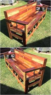 Incredible DIY Pallet Ideas and Projects. reused pallets patio bench