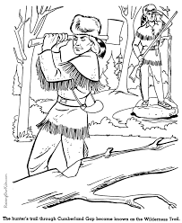 Small Picture Wilderness Trail history coloring page for kids 029 SCHOOL