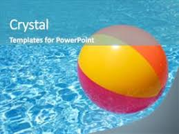 swimming pool beach ball background. Slides Featuring Floating On The Swimming Pool Background And A Teal  Colored Foreground. Beach Ball O