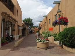 alley off of the north side of the taos plaza with additional s