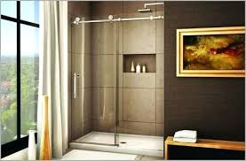 shower doors barn style sensational sliding glass tub image of picture decorating ideas 37
