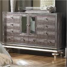 03050-33 Aico Furniture Upholstered Dresser-amazing Gator