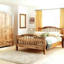 B Solid Oak Bedroom Furniture Contemporary