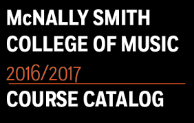 Music School Course Catalog | McNally Smith College of Music