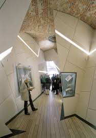 intersecting planes architecture. danish jewish museum copenhagen, denmark intersecting planes architecture