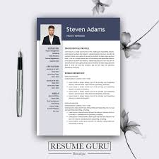 Resume Template Best Template Resume Template Word Professional Resume Template Modern Resume Template Us Buy One Get One Free