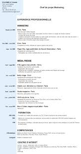Resume French North Fourthwall Co In Resumes Cv Template Doc