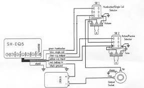 wiring diagram preamp eq shadow pre amp wiring help jemsite i just got one from a member here and i