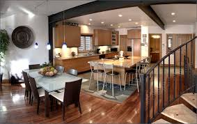 ... Contemporary Kitchen And Dining Room Image ...