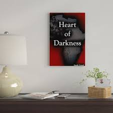 East Urban Home 'Heart Of Darkness By Aaron Able' By Creative Action  Network Graphic Art Print on Wrapped Canvas | Wayfair