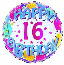 Image result for 16th birthday