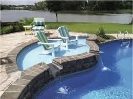 fiberglass pools with tanning ledge. Delighful With Onepiece Fiberglass Tanning Ledges For Vinylliner Pools Now Are Available  From Latham The Come In Assorted Shapes And Colors Provide A  On Fiberglass Pools With Tanning Ledge