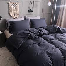bedding sets duvet cover home textile king size bed set bedclothes duvet cover flat sheet pillowcases