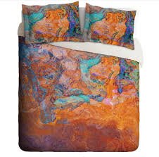 abstract duvet covers. Fine Duvet Abstract Art Duvet Cover King Or Queen Turquoise Orange Southwestern For Covers T
