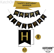 Birthday Banner Printable 30th Birthday Party Decorations Kit Happy Birthday Banner 30th Gold Number Balloons Gold And Black Number 30 Perfect 30 Years Old Party