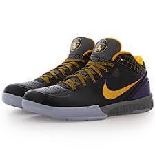 Kobe Sportswear Size Chart Nike Kobe Iv Protro Black Del Sol Varsity Purple Bei Kickz Com