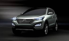 new car releases 2013Hyundai Releases Fluidic Santa Fe Renderings