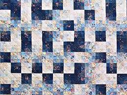 Fabric Maze Quilt -- superb adeptly made Amish Quilts from ... & ... King Navy Blue Fabric Maze Quilt Photo 3 ... Adamdwight.com