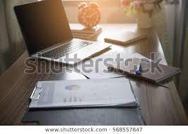 executive office desktop. Modren Desktop Business Executive Office Desk Background ConceptBusiness Computer Empty  Table With Desktop Laptop To Executive Office Desktop