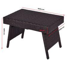 garden patio furniture folding wicker