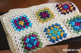 Granny Square Blanket Pattern Cool Patching Up My Granny Square Blanket Make And Takes